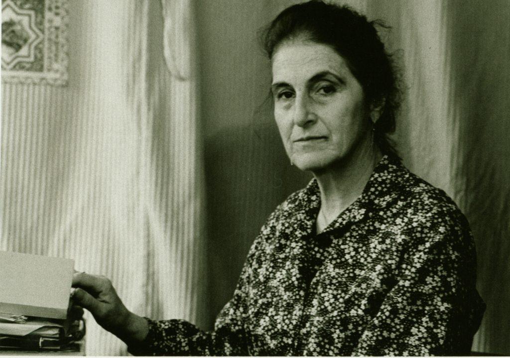 Neža Maurer - fotograf: Tihomir Pinter, 15. 6. 1990